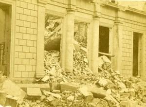 France Ruines de Paris La Commune Mr Thiers House Ruins Old CDV Photo 1870's