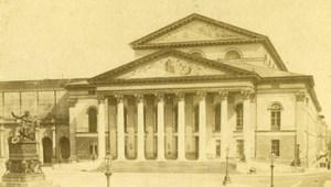 Germany Munich Munchen Nationaltheater Theater old CDV Photo 1870