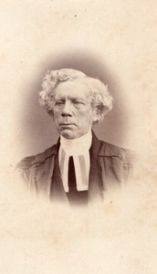 Montreal Reverend Matthew Richey Methodist Church Old Notman CDV Photo 1860