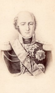 Louis-Nicolas Davout Prince d'Eckmühl Marechal d'Empire old CDV Photo 1870