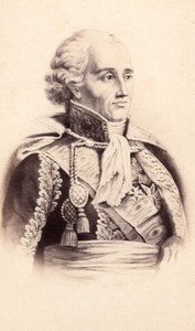 Bon-Adrien Jeannot de Moncey duc de Conegliano Marechal d'Empire CDV Photo 1870