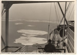 Ocean Liner Cruise Arctic Ocean Norway old Photo 1933