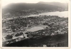 Bergen General View Norway old Photo 1930's