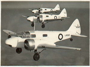 3 RAF Military training airplane flight Photo
