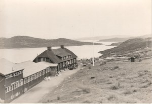 Abisko Lake Village Lapland Sweden old Photo 1936
