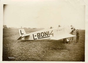 Avia Czechoslovak airplane french 1926 Photo