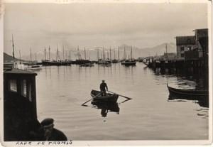 Tromsø Tromso Harbour Norway old Photo 1930's