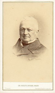 Adolphe Thiers French Politician Reutlinger CDV 1868