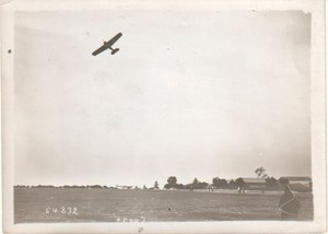 Early Aviation Michelin Cup Airplane old Photo 1913