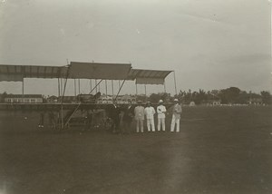 First Bristol Boxkite Airplanes in South Africa Lot of 7 Original Photos 1911