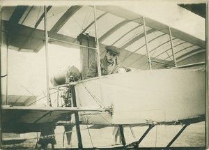 John Moore Brabazon in his Airplane Aviation 1908 Photo