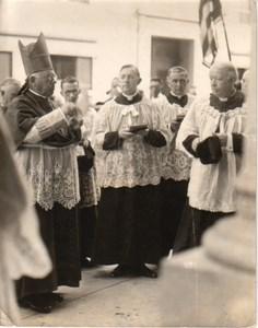 Cardinal O'Connel Cambridge Church Dedication old Photo