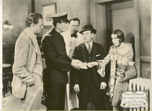 Buddy Rogers Mary Brian Varsity old Lobby Photo 1928