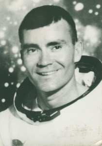 Astronaut Fred Haise Portrait NASA old Photo 1970