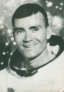 Astronaut Fred Haise Portrait NASA old Photo 1970