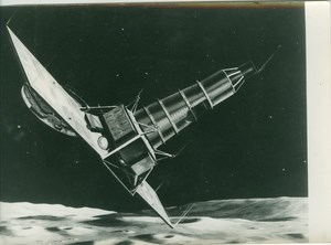 Ranger IX Lunar Crasher Spacecraft NASA old Photo 1965