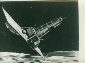 Ranger IX Lunar Crasher Spacecraft NASA old Photo 1965