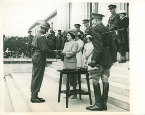 Queen Elizabeth Sandhurst College Cadet WWII WW2 Photo