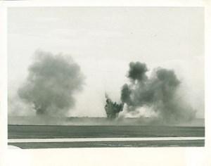Navy Dive Bomber Squadron Bombing Exercise Photo 1941