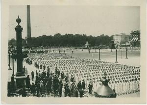 France Lay School Anniversary Parade old Photo 1931