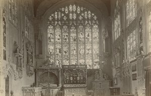 Holy Trinity Church Stratford on Avon Albumen Photo 19C