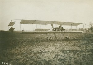 Bronislawski Airplane Early Aviation Branger Photo 1911