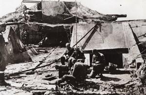 WWII Russian Fortress Nazi Radio Station WW2 Photo 1941