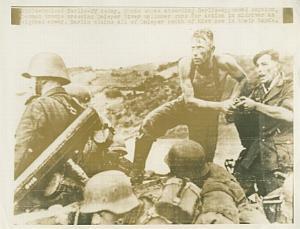 WWII German Troops Cross Dnieper River WW2 Photo 1941