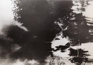 WWII German Troops Russia Blazing War WW2 Photo 1941
