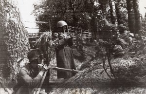 WWII War Russian Front Observation Post WW2 Photo 1941