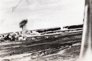 WWII Libya Bombers Hit Enemy Barracks WW2 Photo 1941