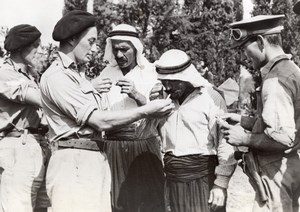 WWII Australian Soldiers Syria Arab War WW2 Photo 1941