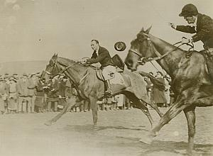 Prince Henry of England Horse Race Racing Photo 1920's