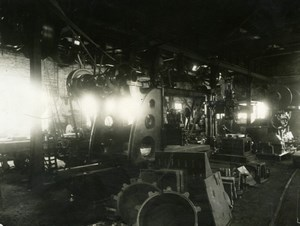 Factory interior old Photograph 1900