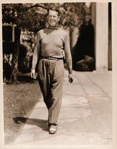 Maurice Chevalier old candid Photo 1932