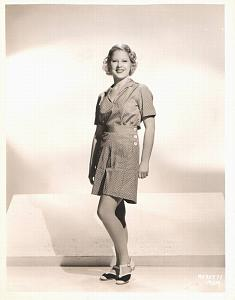 Charming Actress Mary Carlisle Fashion MGM Photo 1932