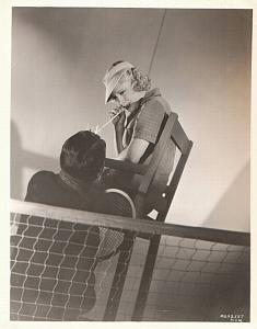 Mary Carlisle at Tennis Game Nice Study MGM Photo 1932