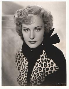 MGM Actress Madge Evans portrait Study old Photo 1932