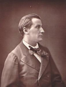 French poet François Coppee Photograph 1880