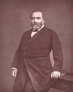 French author Francisque Sarcey 1880 Photo