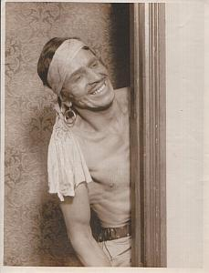 Man in Thief of Bagdad costume old Photo 20's