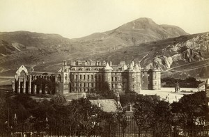Scotland Edinburgh Holyrood from Calton Hill Ecosse James Valentine Photo 1880