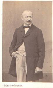 Man standing fashion, old CDV Photo 1865'