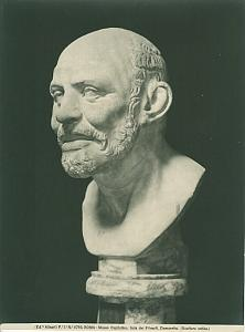 Roma Museo Capitolino Democritus old Photo 1900