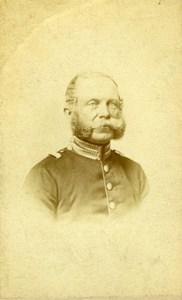 German General Budarhysky Old Antique Biegner Photo CDV 1870'
