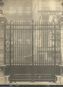 Arts et Metiers Conservatoire Gate Paris old Photo 1900