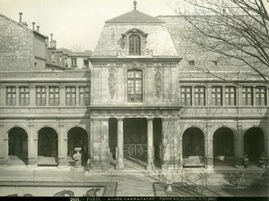 France Paris Carnavalet Museum Façade old LP Photo 1900'