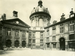 Palais de l'Institut National Paris, old LP Photo 1900'