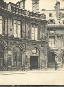 Palais de l'Institut Architecture Paris old Photo 1900'