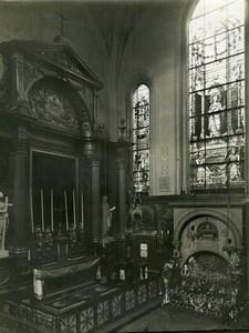 Frannce Paris Saint-Gervais Church Sainte Philomène Chapel old LP Photo 1900'